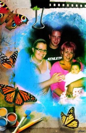 Anyával és barátnőm szüleivel: Vikivel és Tomival - Szafira képek