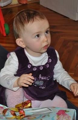 Elsõ szülinapom :-) - Alcsi baba 2010ben :-)